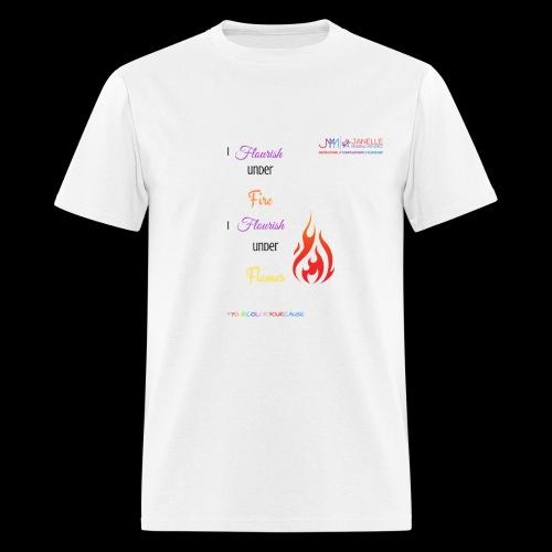 Flourish Under Flames Merch - Men's T-Shirt