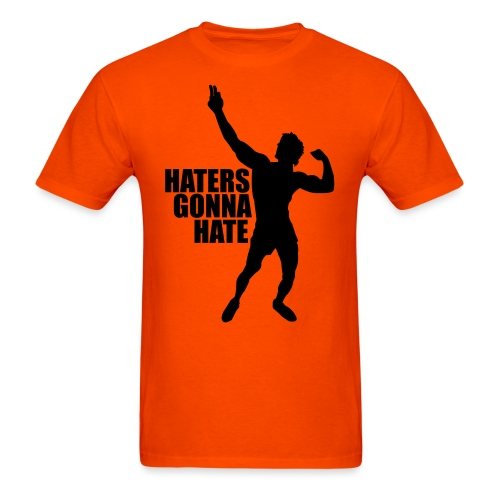 Zyzz Silhouette Haters Gonna Hate - Men's T-Shirt