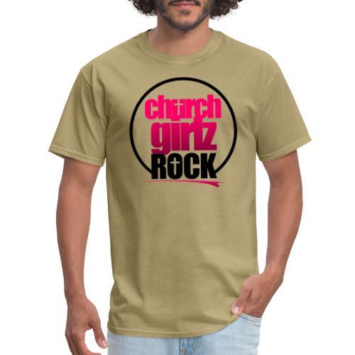 church girlz rock - Men's T-Shirt