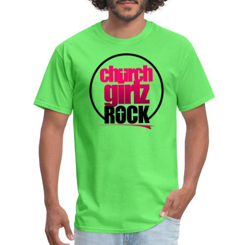 church girlz rock - Men's T-Shirt