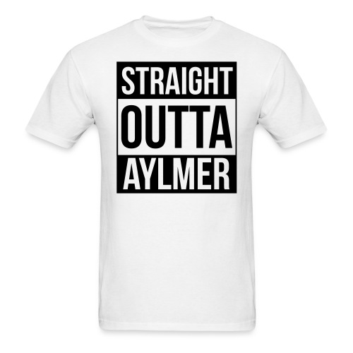 StraightOuttaAylmer - Men's T-Shirt