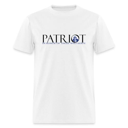 PATRIOT_SAM_USA_LOGO - Men's T-Shirt