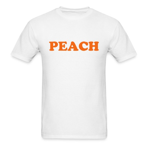 Peach Fruitee - Men's T-Shirt