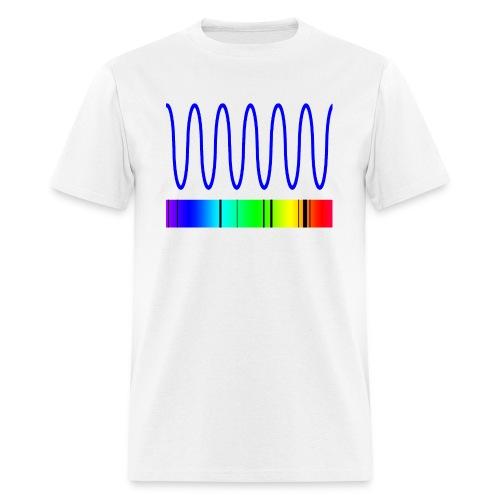 doppler blue front - Men's T-Shirt