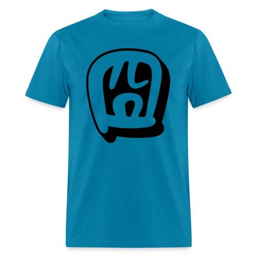 gwing black - Men's T-Shirt