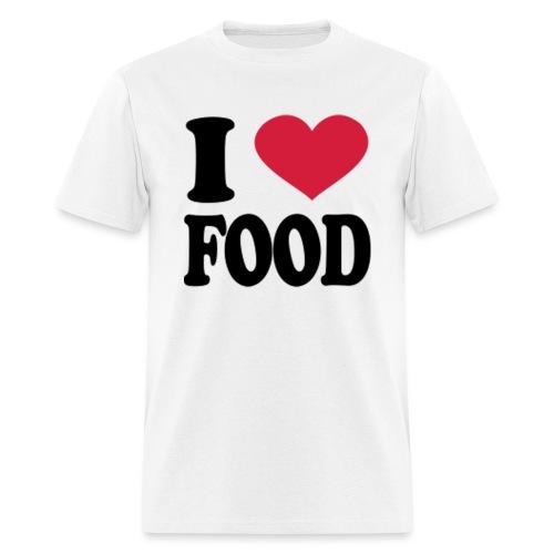i love food - Men's T-Shirt