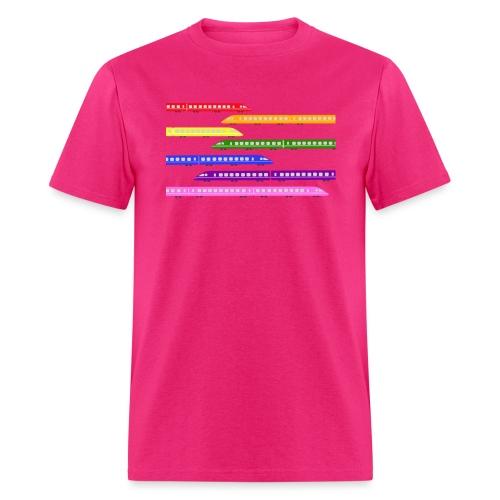 trains t shirt 2 - Men's T-Shirt