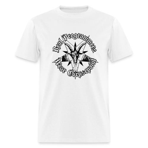 real programmers wear corpsepaint01 - Men's T-Shirt