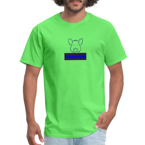 Hammie Logo with Brand Name - Men's T-Shirt