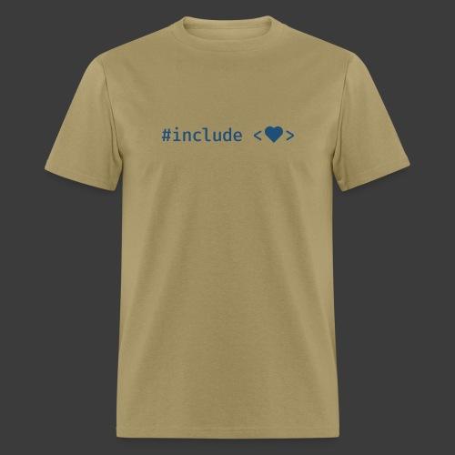Blue Include Heart - Men's T-Shirt