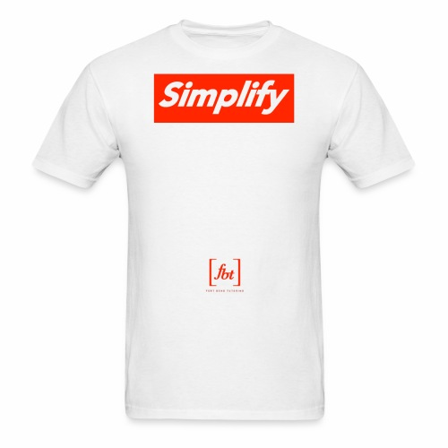 Simplify [fbt] - Men's T-Shirt