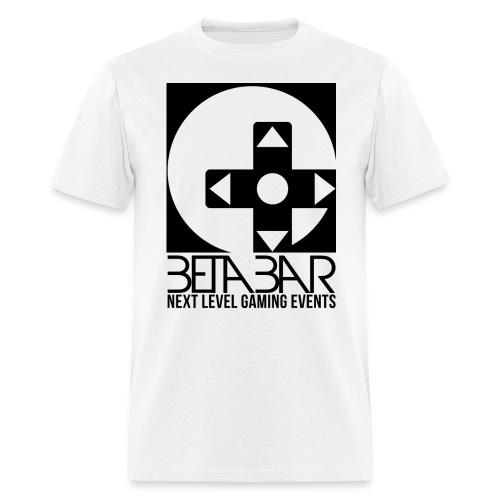 betadpadTOPlogo BLACK png - Men's T-Shirt