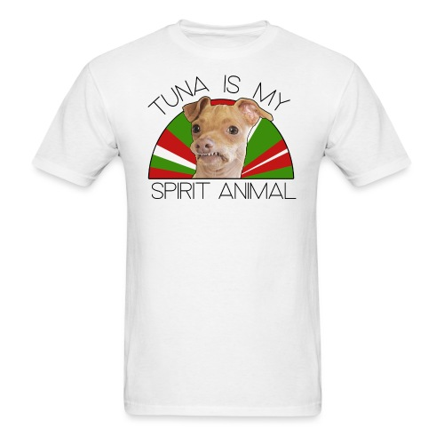 Spirit Animal–Christmas - Men's T-Shirt