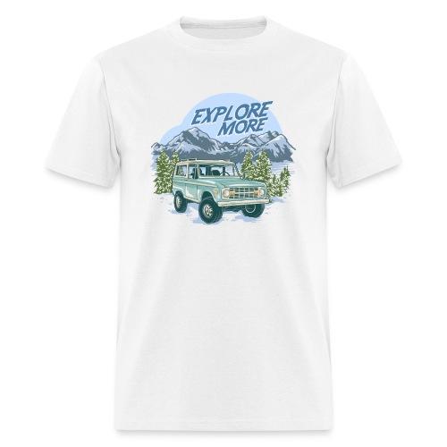 Bronco Truck Explore more II Graphic T-Shirt - Men's T-Shirt