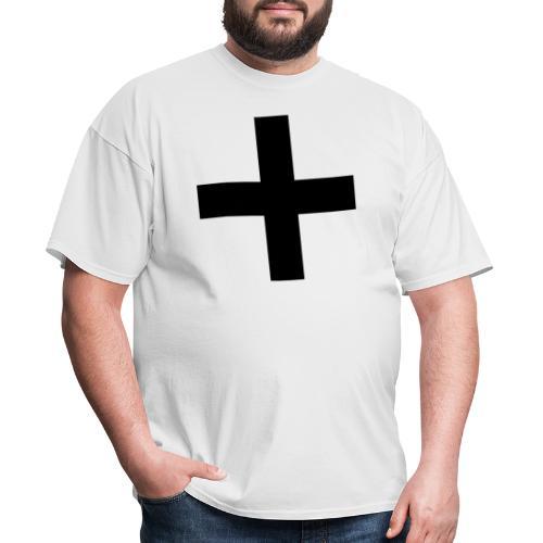 Plus Brandmark Black - Men's T-Shirt