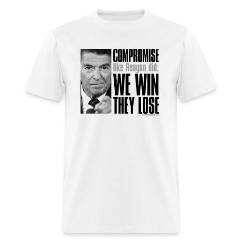 Reagan on Compromise - Men's T-Shirt