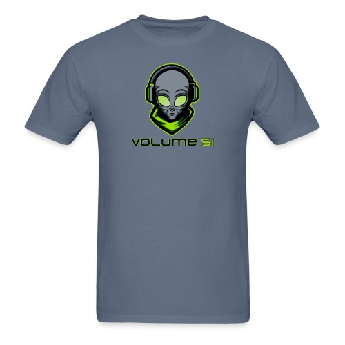 Volume 51 Text Logo - Men's T-Shirt