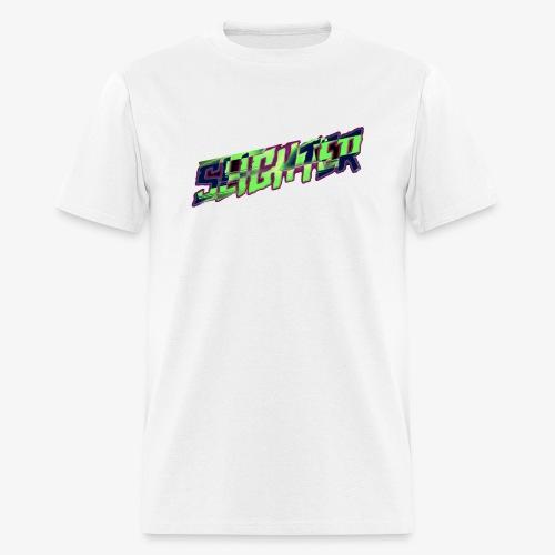 Retro Logo Glitch - Men's T-Shirt