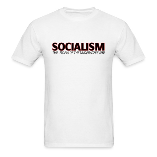 SOCIALISM UTOPIA - Men's T-Shirt