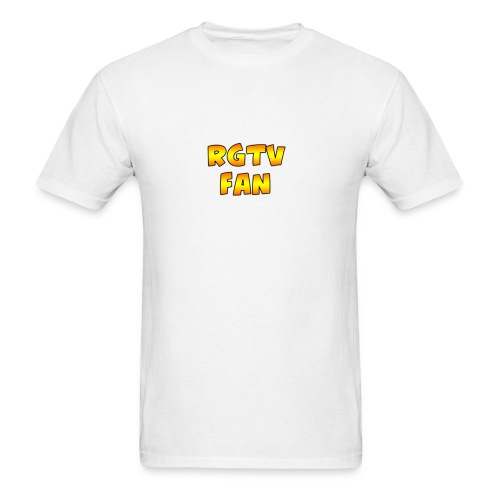 rgtvfantext png - Men's T-Shirt