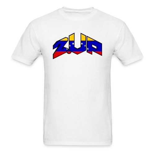 2up logo ven - Men's T-Shirt