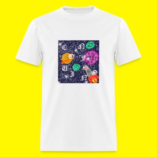 confusion galaxy - Men's T-Shirt