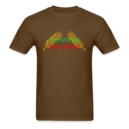Everything Agriculture LOGO - Men's T-Shirt