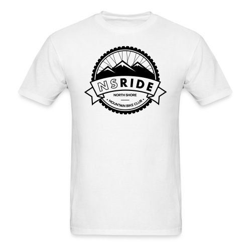 NSRIDE Logo - Men's T-Shirt