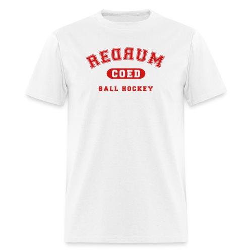 redrum varsity - Men's T-Shirt