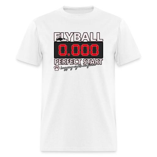 perfect start flyball - Men's T-Shirt