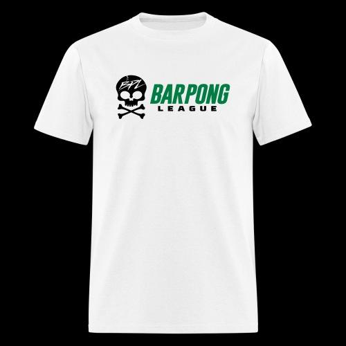 Bar Pong League Wide Logo - Men's T-Shirt