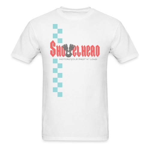 Shovelhead Race - Motorcycle Fast N`Loud - Men's T-Shirt