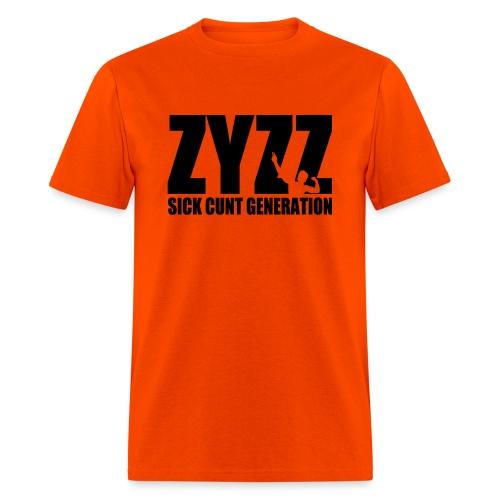 Zyzz Sickkunt Generation - Men's T-Shirt