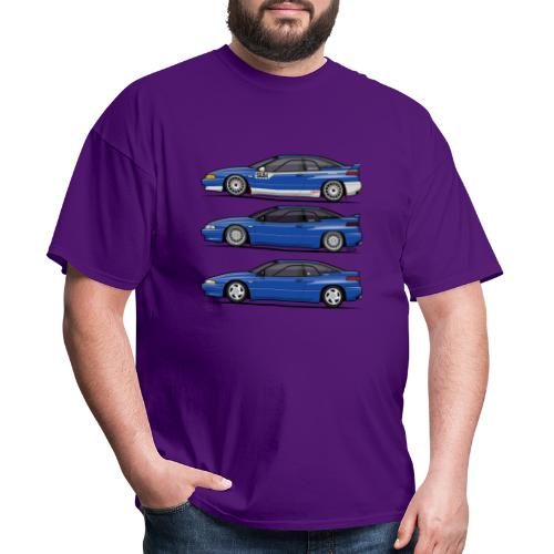 Subie Alcyone SVX Laguna Blue Pearl Trio - Men's T-Shirt