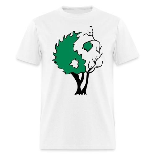in tree col - Men's T-Shirt