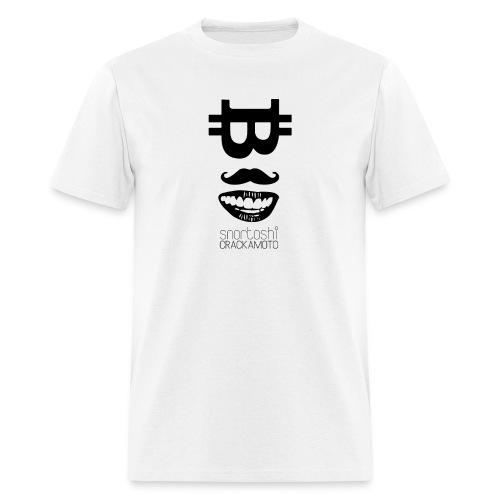 Bitcoin Tshirt - Snortoshi Crackamoto - Men's T-Shirt