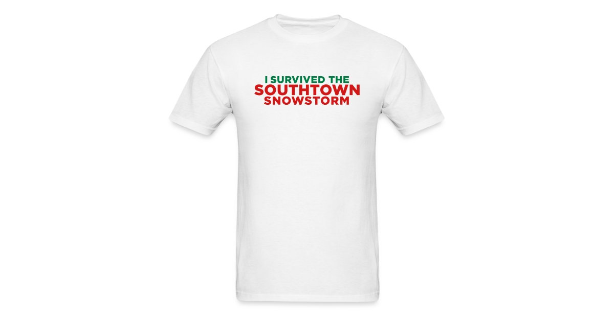 Christmas In Dixie Shirt.Jomadado I Survived The Southtown Snowstorm Christmas Mens T Shirt