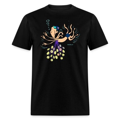 swimmeralpha - Men's T-Shirt