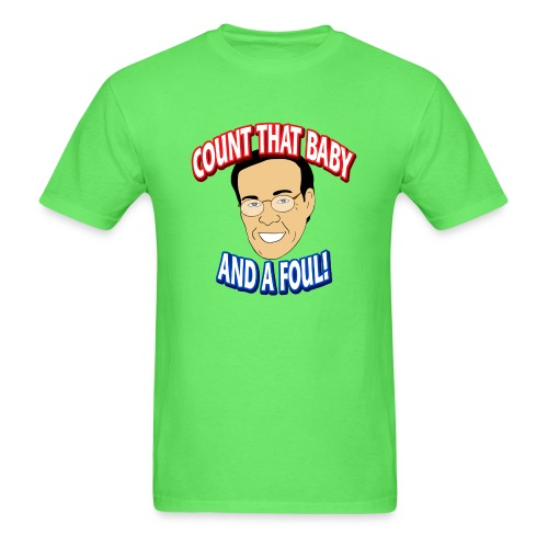 Count That Baby and a Foul - Men's T-Shirt