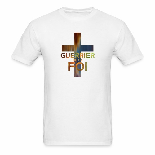 WARRIOR OF FAITH - Men's T-Shirt