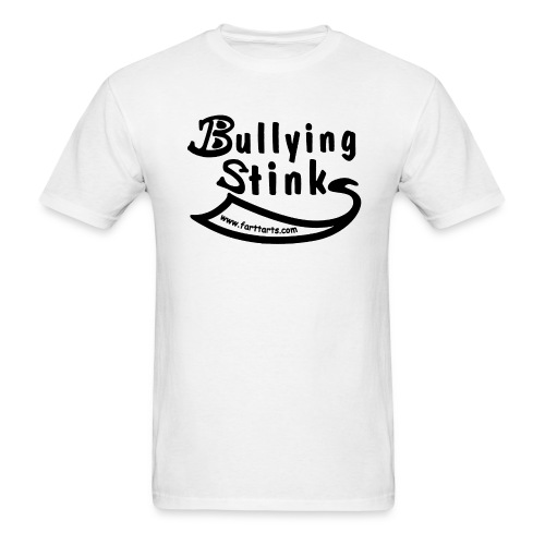 bullying stinks black woutl png - Men's T-Shirt