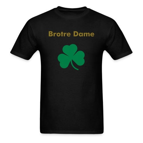 brotre dame - Men's T-Shirt