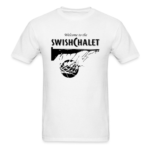 Welcome to the Swish Chalet - Men's T-Shirt