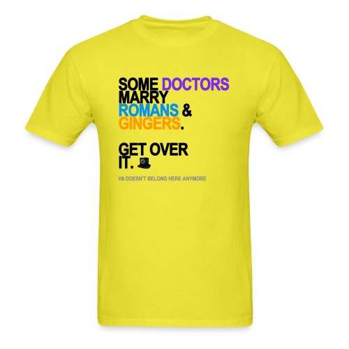 some doctors marry romansgingers lg tran - Men's T-Shirt