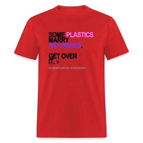some plastics marry art freaks lg transp - Men's T-Shirt