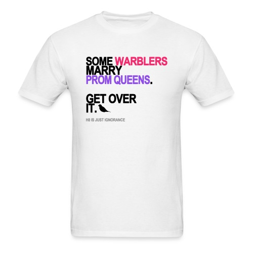 some warblers marry prom queens lg trans - Men's T-Shirt