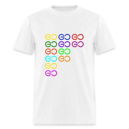 GOGOGO multi color - Men's T-Shirt