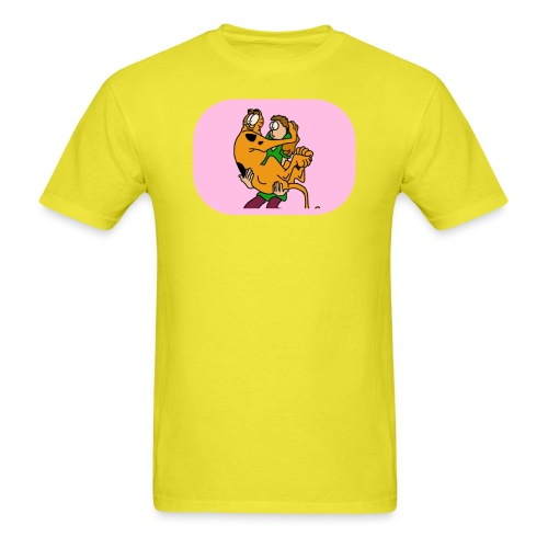 garf n jon - Men's T-Shirt
