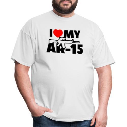 I LOVE MY AR-15 - Men's T-Shirt