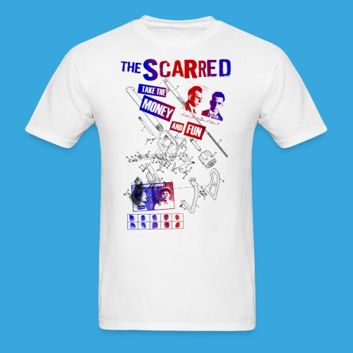 The Scarred Take the money and FUN - Men's T-Shirt